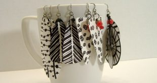 Statement earrings are in and these are big, bold, eye catching and incredibly l...