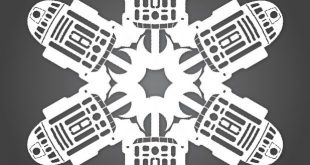 How-To: Star Wars Paper Snowflakes