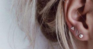 Mix and Match Earring Set   Mismatched Earrings   Silver Stud Earring   Small Earring Set of Three   Earring Set   Shape Earrings