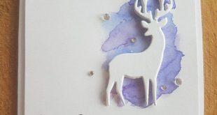 Weihnachten Karte und Umschlag-Set 12 Karten zeitgenössische | Etsy