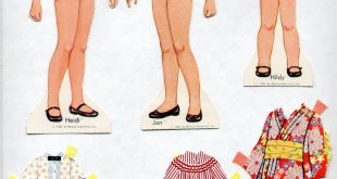 Details about 1967 HEIDI, HILDY & JAN Paper Doll Book - REMCO DOLLS - RARE UNCUT ORIGINAL