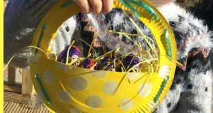 How to Make a Paper Plate Easter Basket - #activities #Basket #Easter #Paper #Pl...