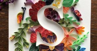 Quilling Personalized Letters S wall art for initials name   Etsy