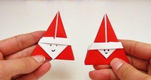 Süßes Nikolaus Origami DIY | Super niedliches Origami für den Nikolaus Tag | ...