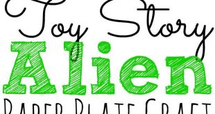 Toy Story Alien Paper Plate Craft