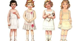 Vintage Paper Doll Angels – Part 4