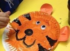 paper plate tigers   Crafts and Worksheets for Preschool,Toddler and Kindergarte...