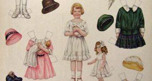 1916 Betty Bonnet's Best Friend Paper Dolls