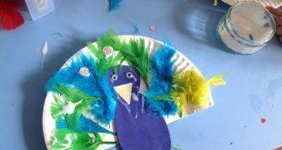 Basteln mit 2-jährigen Kindern – 20 Ideen mit verschiedenen Materialien - #2j...