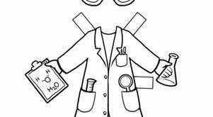 Career Paper Dolls: Scientist