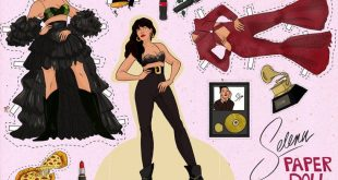 Here's The Selena Quintanilla Paper Doll Of Your Dreams