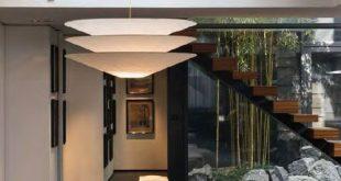Ingo Maurer Floatation® Paper Lamp Shade Suspension Light