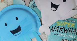Narwhal and Jelly: Paper Plate Crafts